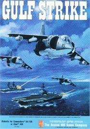 Box cover for Gulf Strike on the Commodore 64.