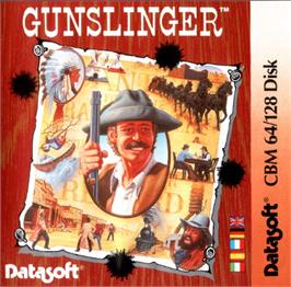 Box cover for Gunslinger on the Commodore 64.