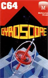 Box cover for Gyroscope on the Commodore 64.