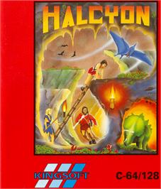 Box cover for Halcyon on the Commodore 64.