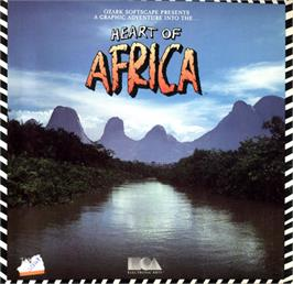 Box cover for Heart of Africa on the Commodore 64.