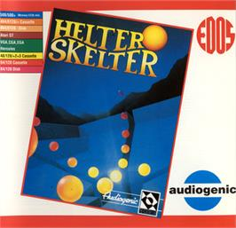 Box cover for Helter Skelter on the Commodore 64.