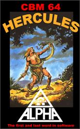 Box cover for Hercules on the Commodore 64.