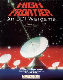 Box cover for High Frontier on the Commodore 64.
