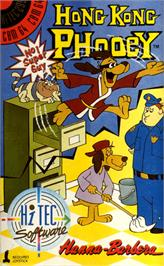 Box cover for Hong Kong Phooey: No.1 Super Guy on the Commodore 64.