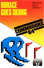Box cover for Horace Goes Skiing on the Commodore 64.