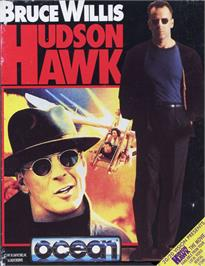 Box cover for Hudson Hawk on the Commodore 64.