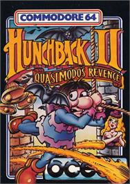 Box cover for Hunchback II: Quasimodo's Revenge on the Commodore 64.