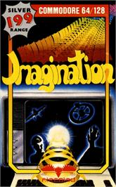 Box cover for Imagination on the Commodore 64.
