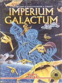 Box cover for Imperium Galactum on the Commodore 64.