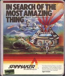 Box cover for In Search of the Most Amazing Thing on the Commodore 64.