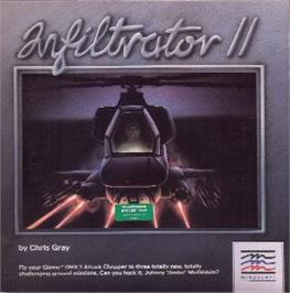 Box cover for Infiltrator II on the Commodore 64.