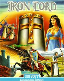 Box cover for Iron Lord on the Commodore 64.