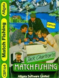 Box cover for Jack Charlton's Match Fishing on the Commodore 64.