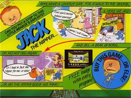 Box cover for Jack the Nipper on the Commodore 64.