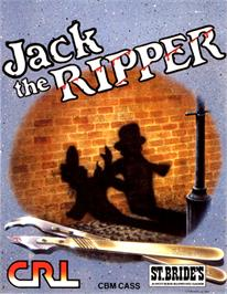 Box cover for Jack the Ripper on the Commodore 64.