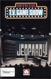 Box cover for Jeopardy! on the Commodore 64.
