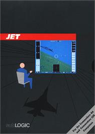 Box cover for Jet on the Commodore 64.
