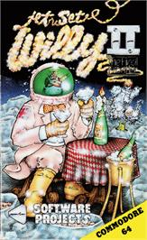 Box cover for Jet Set Willy II: The Final Frontier on the Commodore 64.