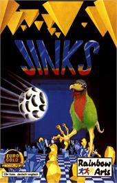 Box cover for Jinks on the Commodore 64.