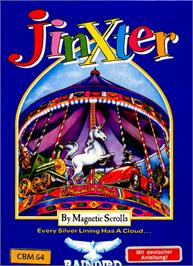 Box cover for Jinxter on the Commodore 64.