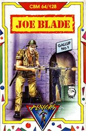 Box cover for Joe Blade on the Commodore 64.