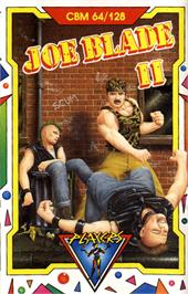 Box cover for Joe Blade II on the Commodore 64.