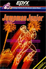 Box cover for Jumpman Junior on the Commodore 64.