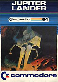 Box cover for Jupiter Lander on the Commodore 64.
