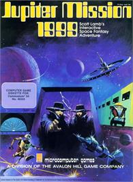 Box cover for Jupiter Mission 1999 on the Commodore 64.