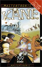 Box cover for Kane on the Commodore 64.