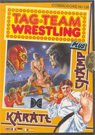 Box cover for Karate Champ on the Commodore 64.
