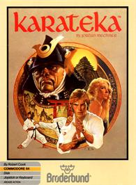 Box cover for Karateka on the Commodore 64.