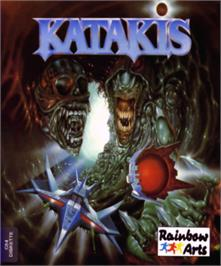Box cover for Katakis on the Commodore 64.