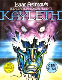 Box cover for Kayleth on the Commodore 64.