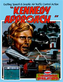 Box cover for Kennedy Approach on the Commodore 64.
