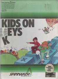 Box cover for Kids on Keys on the Commodore 64.