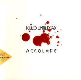Box cover for Killed Until Dead on the Commodore 64.