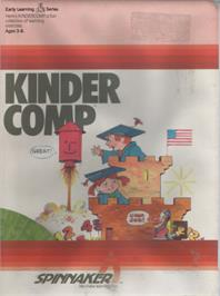 Box cover for Kindercomp on the Commodore 64.