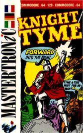 Box cover for Knight Tyme on the Commodore 64.
