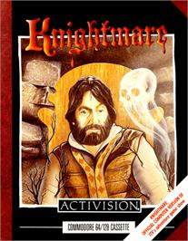 Box cover for Knightmare on the Commodore 64.