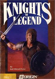 Box cover for Knights of Legend on the Commodore 64.