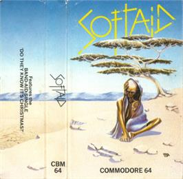 Box cover for Kokotoni Wilf on the Commodore 64.