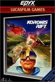 Box cover for Koronis Rift on the Commodore 64.