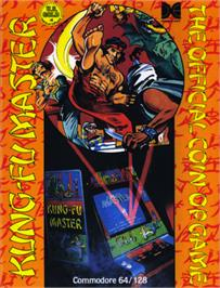 Box cover for Kung-Fu Master on the Commodore 64.