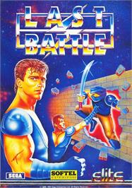 Box cover for Last Battle on the Commodore 64.