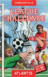 Box cover for League Challenge on the Commodore 64.