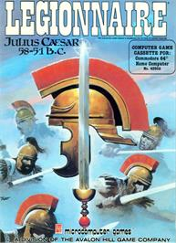 Box cover for Legionnaire on the Commodore 64.