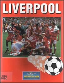 Box cover for Liverpool: the Computer Game on the Commodore 64.