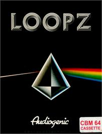 Box cover for Loopz on the Commodore 64.